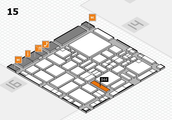 boot 2017 hall map (Hall 15): stand B44
