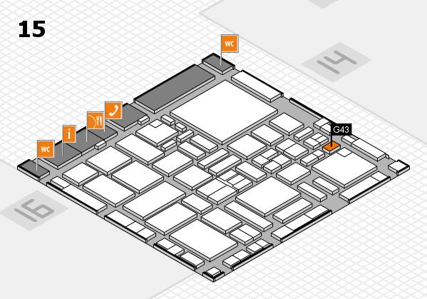 boot 2017 hall map (Hall 15): stand G43