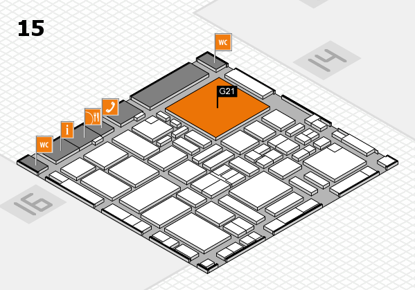 boot 2017 hall map (Hall 15): stand G21