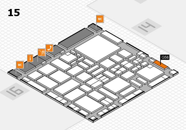 boot 2017 hall map (Hall 15): stand G58