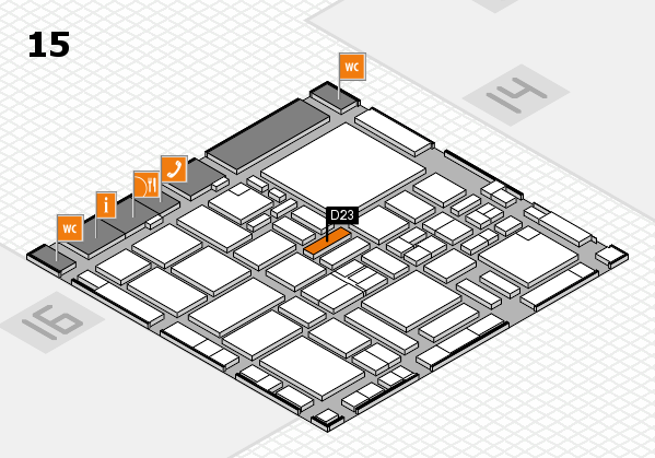 boot 2017 hall map (Hall 15): stand D23