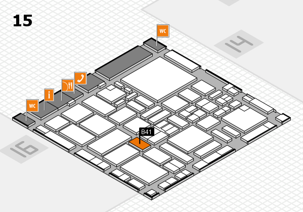 boot 2017 hall map (Hall 15): stand B41