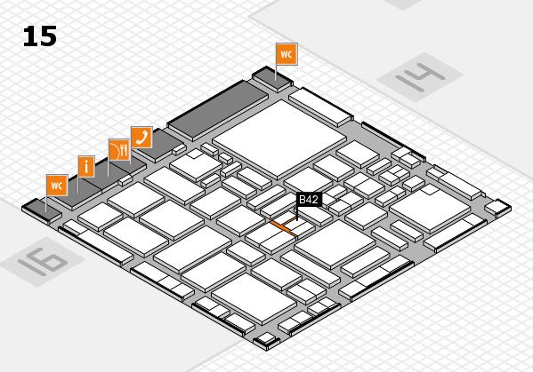 boot 2017 hall map (Hall 15): stand B42