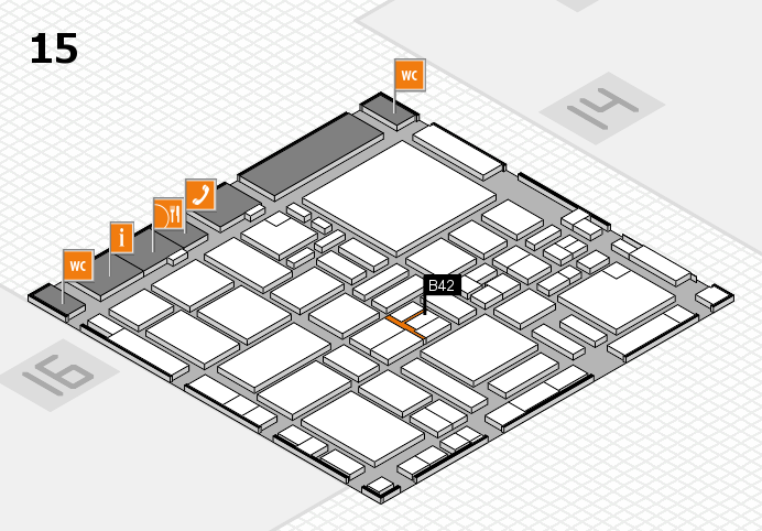 boot 2017 hall map (Hall 15): stand B42