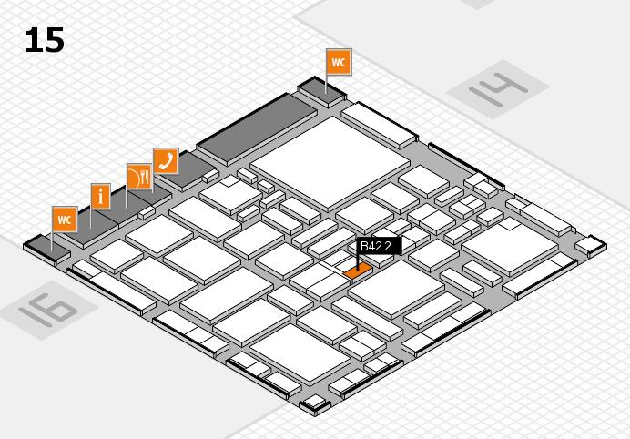 boot 2017 hall map (Hall 15): stand B42.2