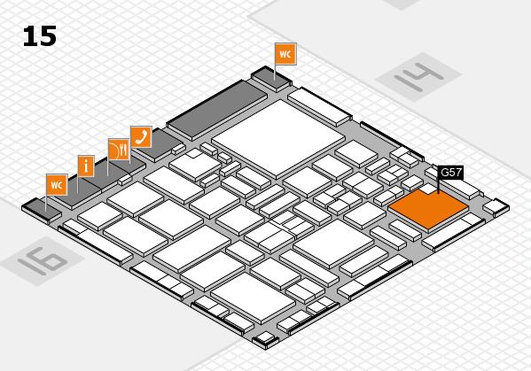 boot 2017 hall map (Hall 15): stand G57