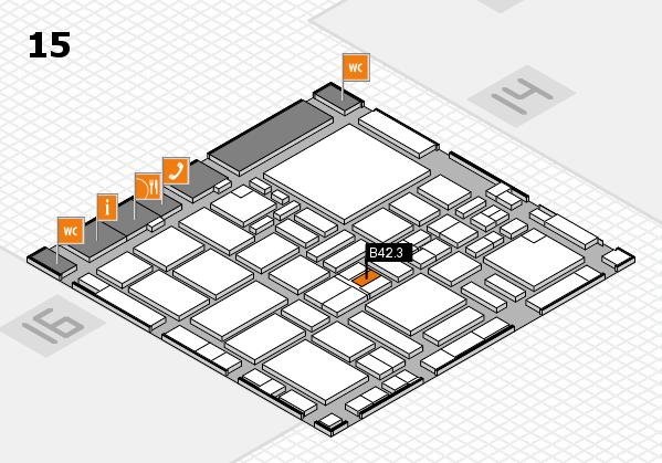 boot 2017 hall map (Hall 15): stand B42.3