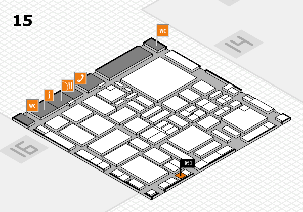 boot 2017 hall map (Hall 15): stand B63