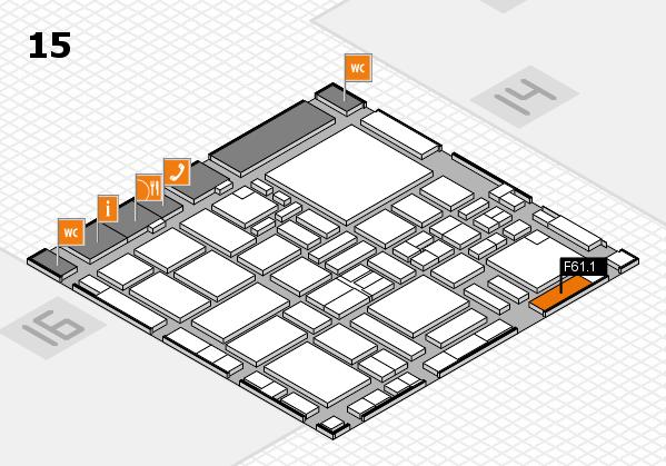 boot 2017 hall map (Hall 15): stand F61.1