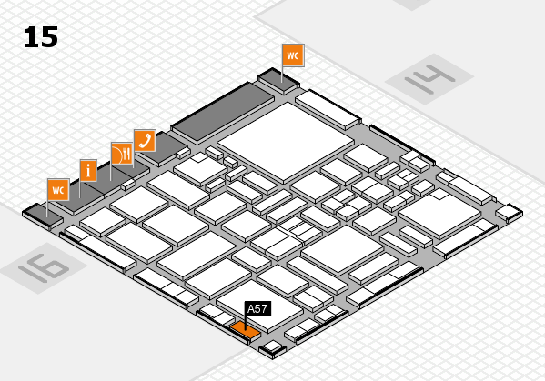 boot 2017 hall map (Hall 15): stand A57