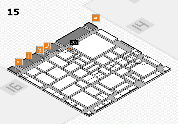 boot 2017 hall map (Hall 15): stand D03