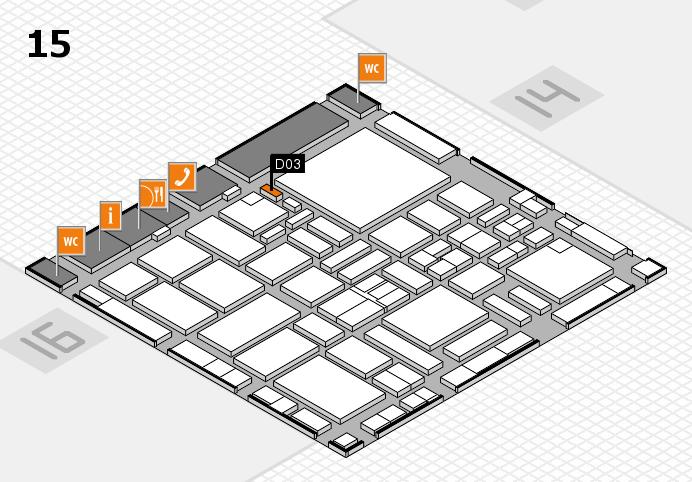 boot 2017 hall map (Hall 15): stand D03