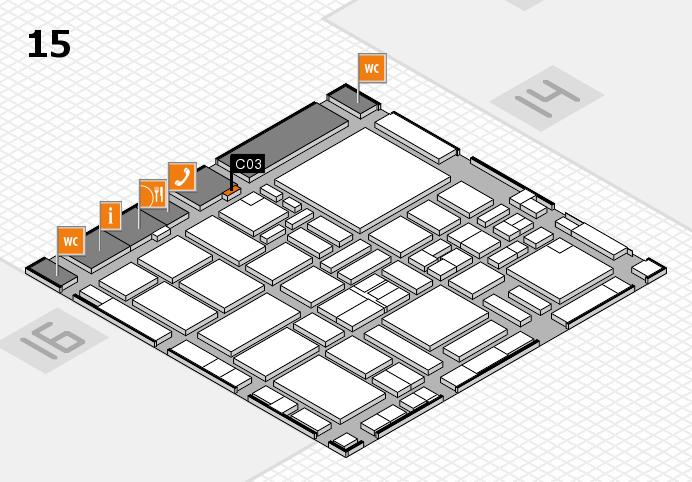 boot 2017 hall map (Hall 15): stand C03