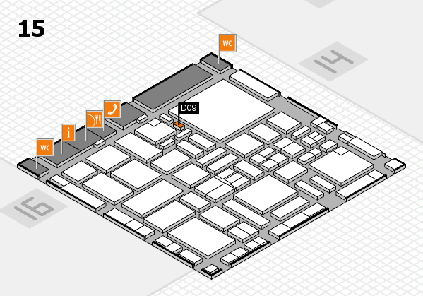 boot 2017 hall map (Hall 15): stand D09