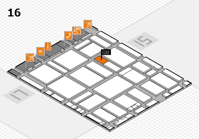 boot 2017 hall map (Hall 16): stand C22