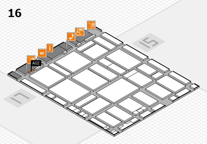 boot 2017 hall map (Hall 16): stand A02