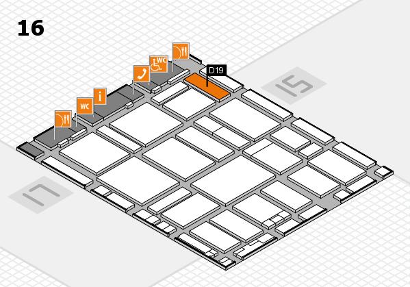 boot 2017 hall map (Hall 16): stand D19