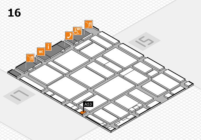 boot 2017 hall map (Hall 16): stand A53