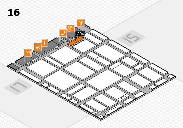 boot 2017 hall map (Hall 16): stand C04