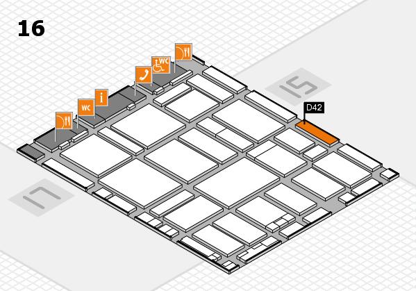 boot 2017 hall map (Hall 16): stand D42