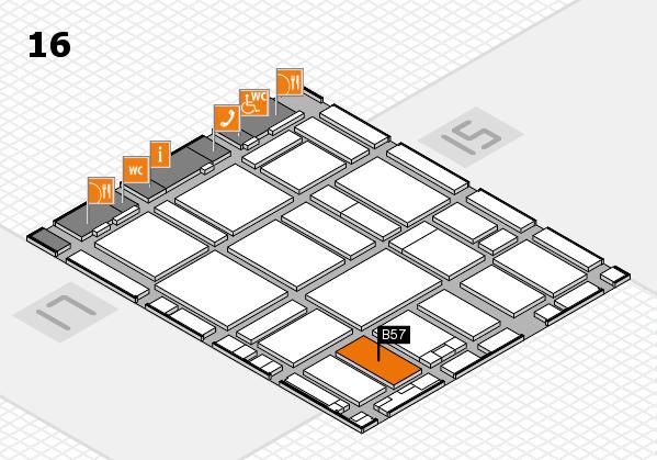 boot 2017 hall map (Hall 16): stand B57