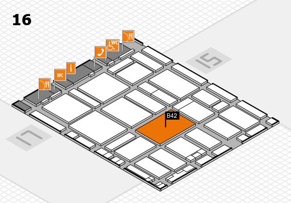 boot 2017 hall map (Hall 16): stand B42