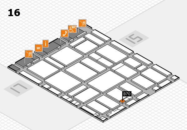 boot 2017 hall map (Hall 16): stand B70