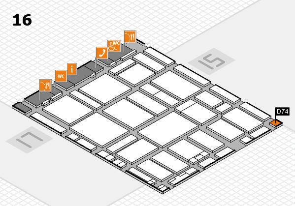 boot 2017 hall map (Hall 16): stand D74