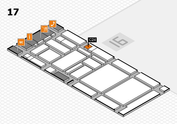 boot 2017 hall map (Hall 17): stand C24