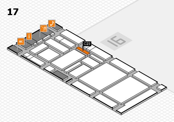 boot 2017 hall map (Hall 17): stand C23