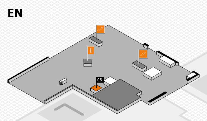 boot 2017 hall map (North Entrance): stand 05