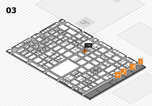 boot 2018 hall map (Hall 3): stand C50