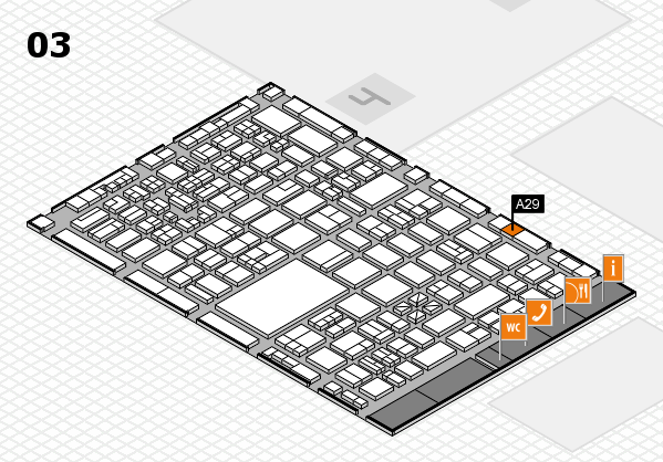 boot 2018 hall map (Hall 3): stand A29