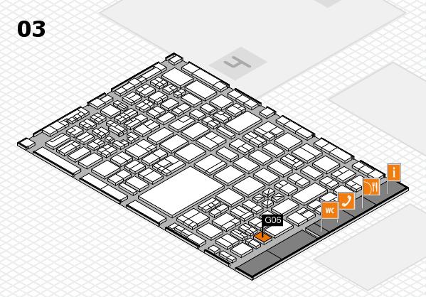 boot 2018 hall map (Hall 3): stand G06