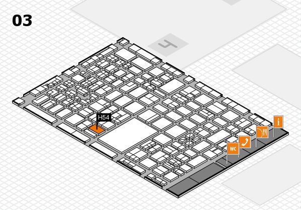 boot 2018 hall map (Hall 3): stand H54