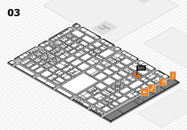 boot 2018 hall map (Hall 3): stand B20