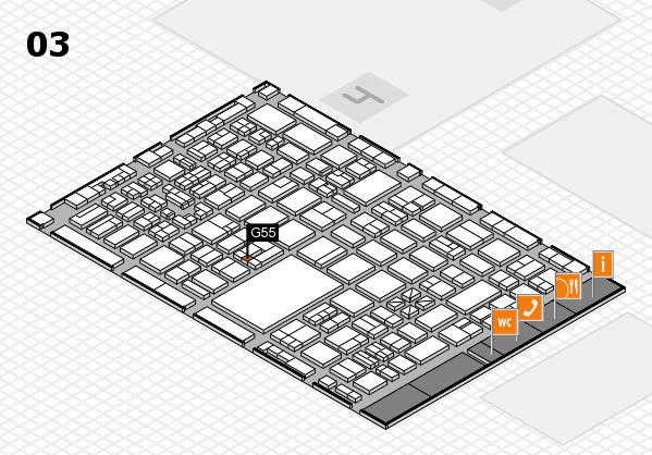 boot 2018 hall map (Hall 3): stand G55