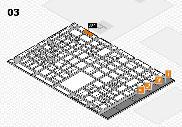 boot 2018 hall map (Hall 3): stand A89