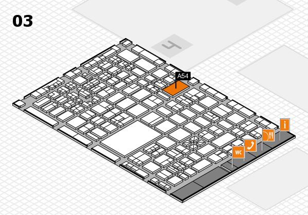 boot 2018 hall map (Hall 3): stand A54
