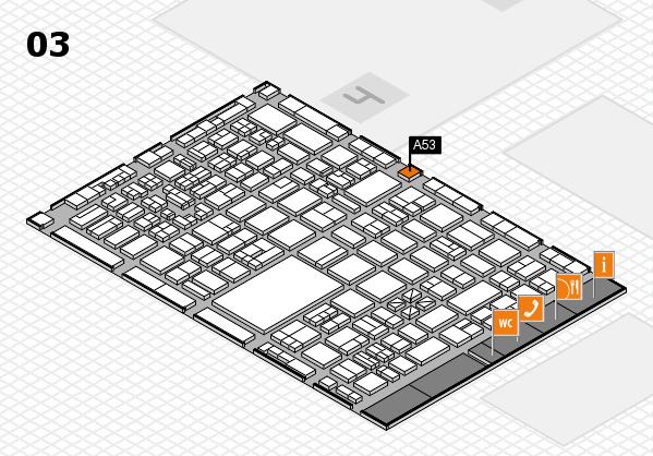 boot 2018 hall map (Hall 3): stand A53