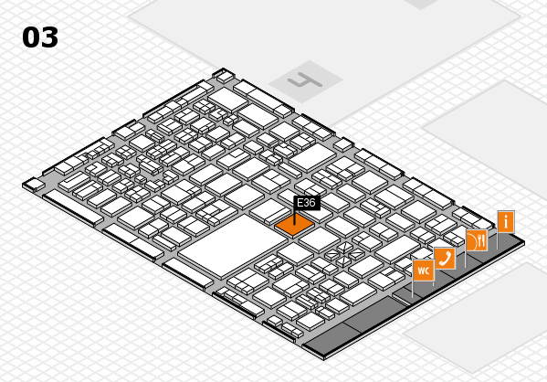 boot 2018 hall map (Hall 3): stand E36