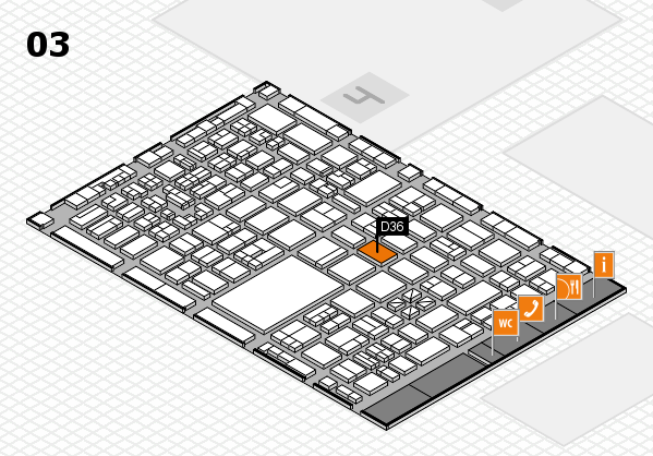 boot 2018 hall map (Hall 3): stand D36