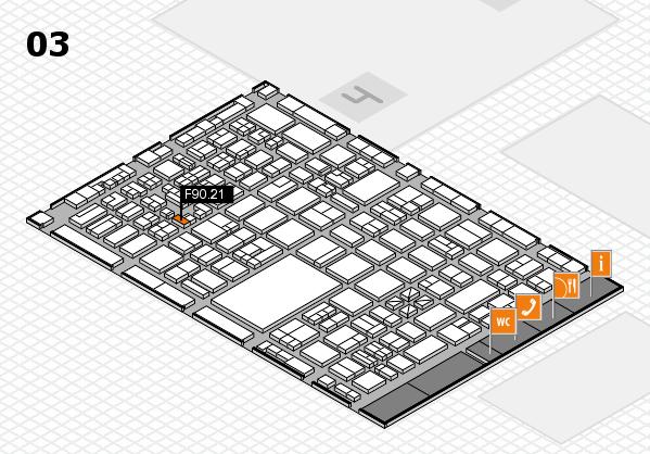 boot 2018 hall map (Hall 3): stand F90.21