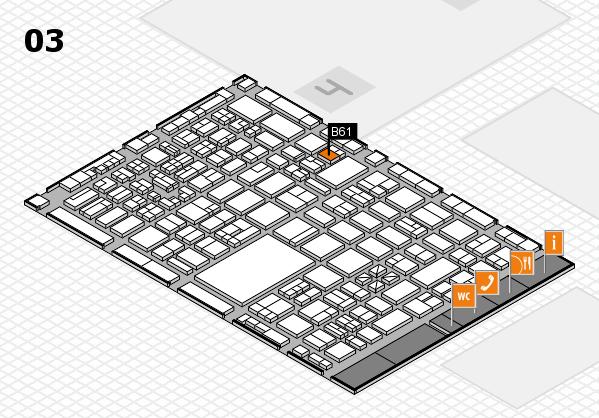 boot 2018 hall map (Hall 3): stand B61