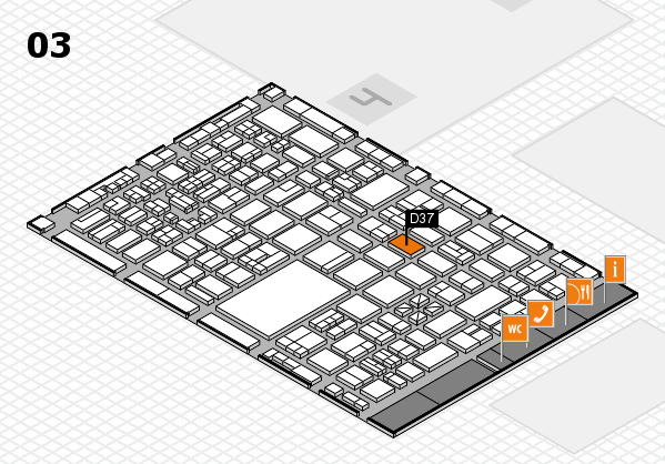 boot 2018 hall map (Hall 3): stand D37