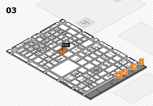 boot 2018 hall map (Hall 3): stand E62