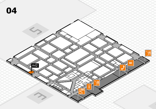 boot 2018 hall map (Hall 4): stand A42