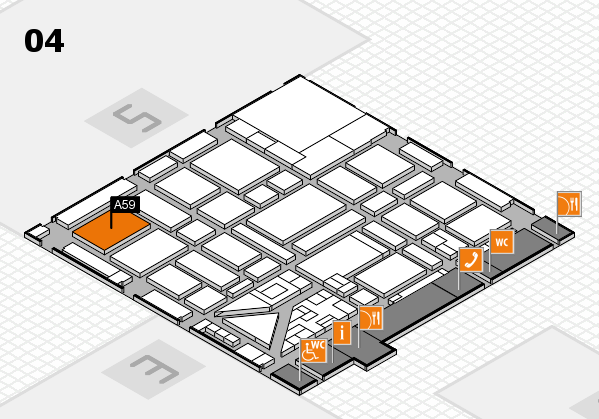 boot 2018 hall map (Hall 4): stand A59