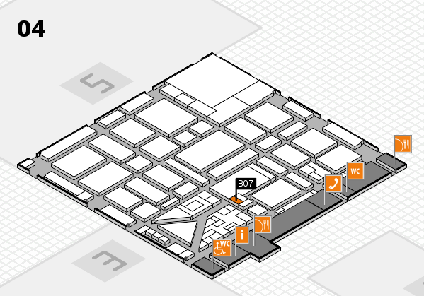 boot 2018 hall map (Hall 4): stand B07