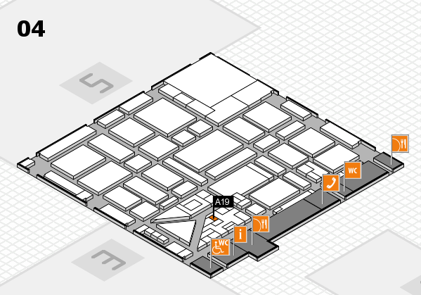 boot 2018 hall map (Hall 4): stand A19